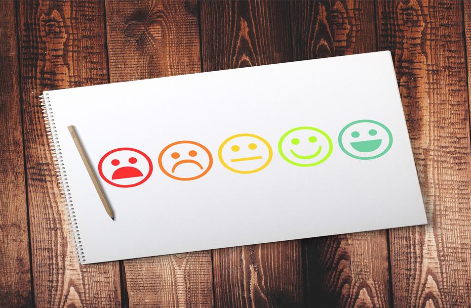 Wie ist die Stimmung? Eine Mitarbeiterbefragung kann Auskunft geben